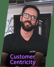 Customer Centricity - Por Hamilton Frausto